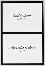 Mounir FATMI - Print-Multiple - God is dead