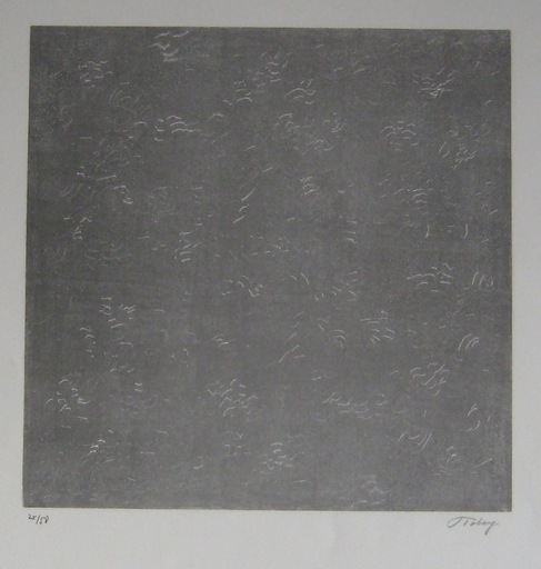 Mark TOBEY - Estampe-Multiple - LITHOGRAPHIE SIGNÉE AU CRAYON NUM/50 HANDSIGNED LITHOGRAPH