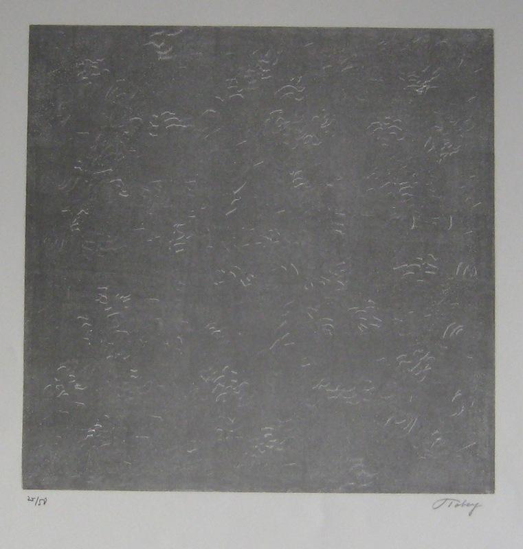 Mark TOBEY - Print-Multiple - LITHOGRAPHIE SIGNÉE AU CRAYON NUM/50 HANDSIGNED LITHOGRAPH