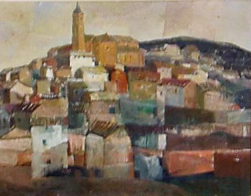 Rafael UBEDA PIÑEIRO - Pintura - seseña
