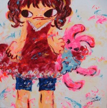 Ayako ROKKAKU - Painting - Untitled ARP08-070
