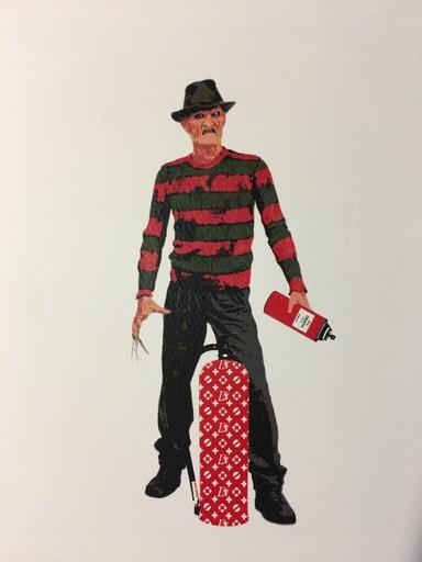 DEATH NYC - Estampe-Multiple - Freddy Death Spray