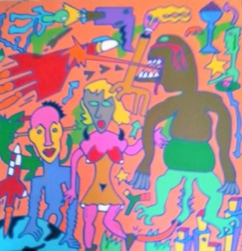 Jean-Luc JUHEL - Pintura - sans titre