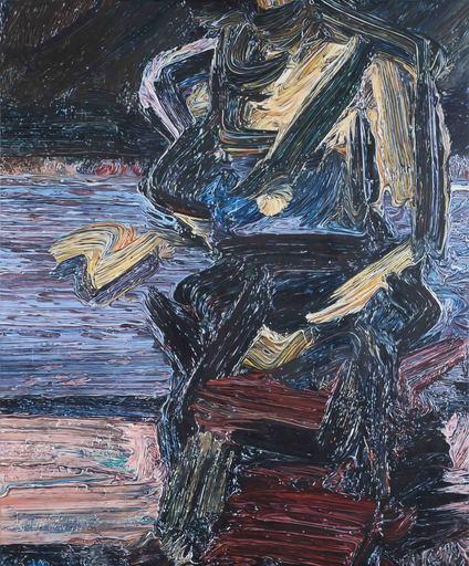 Glenn BROWN - Painting - Dead Relatives