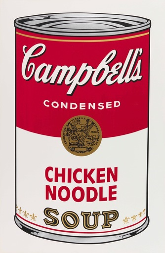 Andy WARHOL - Stampa Multiplo - Campbell's Soup I, Chicken Noodle F&S II.45