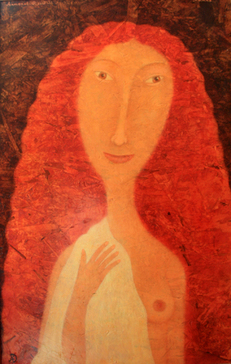 Roman ANTONOV - Painting - Red-Haired