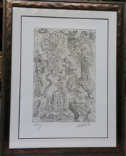 "Robert COMBAS - Print-Multiple - ""Le charmeur"""