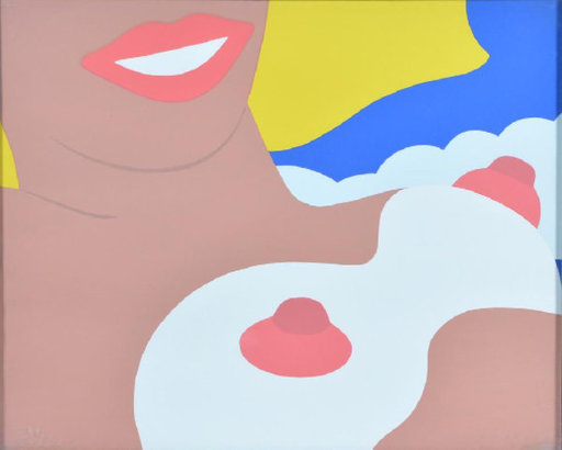 Tom WESSELMANN - Grabado - Nude (from the 11 Pop Artist Voll. II)
