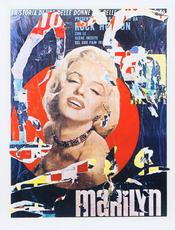 Mimmo ROTELLA - Print-Multiple - Marilyn
