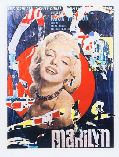 米莫·罗特拉 - 版画 - Marilyn