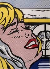 Roy LICHTENSTEIN - Grabado - Shipboard Girl