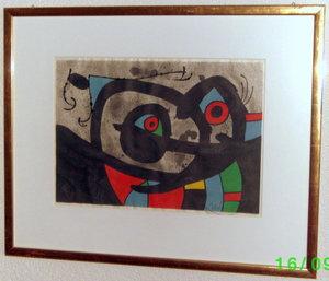 Joan MIRO (1893-1983) - Die Eidechse mit den Goldfedern (nur 10 Stück)
