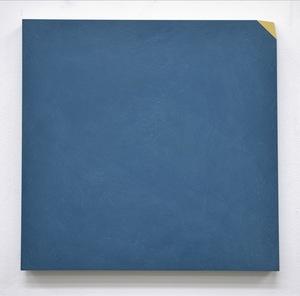 Ettore SPALLETTI - Gemälde - Ma, si, Blu di Prussia e oro