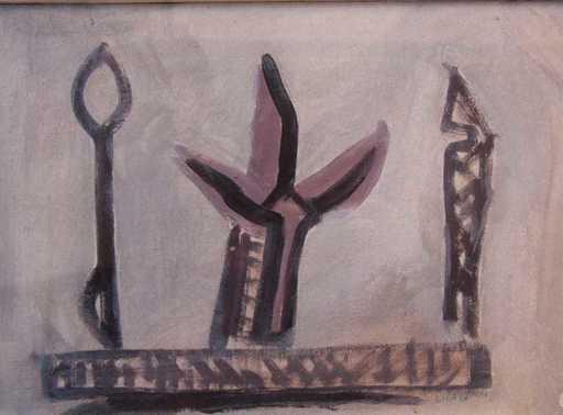 Riccardo LICATA - Painting - Senza titolo
