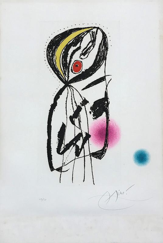 Joan MIRO - Print-Multiple - La Paludéenne