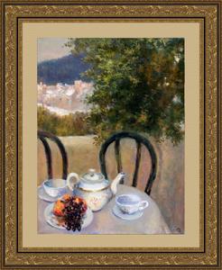 Levan URUSHADZE - Gemälde - Tea for two