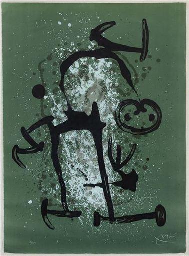Joan MIRO - Druckgrafik-Multiple - L'Illêtre-vert