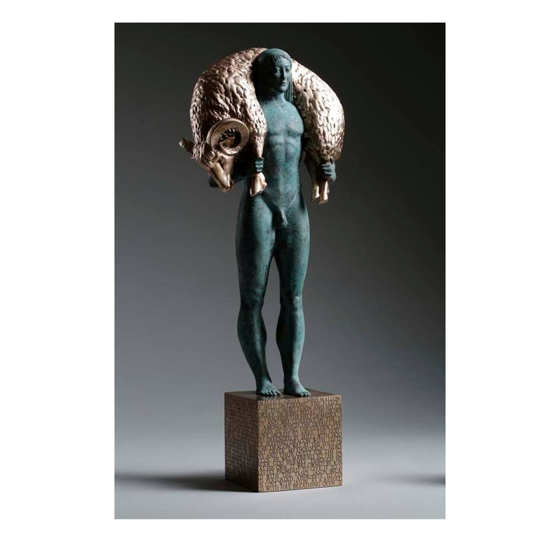 Volodymyr TSISARYK - Sculpture-Volume - Jason and the golden fleece