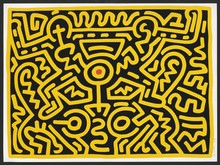 Keith HARING - Estampe-Multiple - Plate IV, from Growing Suite