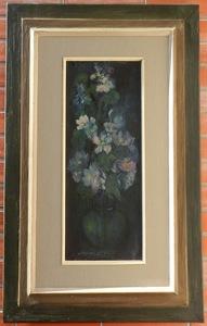 Gabriela SCHILLEROVA-DIMITROVA - Painting - Bouquet
