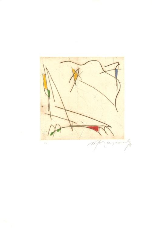 Alberto RAFOLS CASAMADA - Grabado - Estels 1