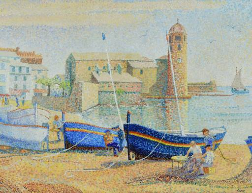 Yvonne CANU - Painting - Collioure