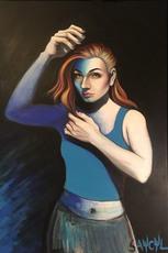 SAYCYL - Pittura - Blue Wilma 2
