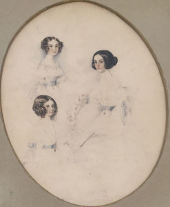 George HAYTER - 水彩作品 - Portraits of Women