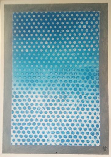 Harry BARTLETT FENNEY - Pittura - blue two (2018)