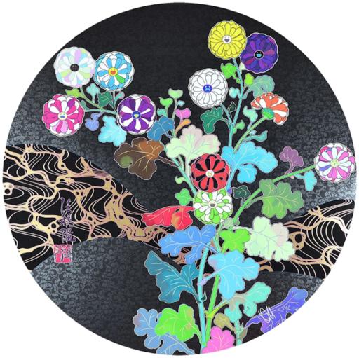 Takashi MURAKAMI - Print-Multiple - Kansei Wildflowers Glowing in the Night