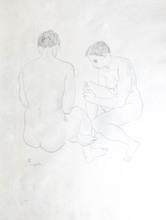 藤田嗣治 - 版画 - Etude de Nus