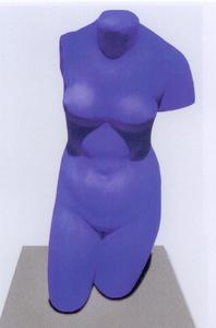 Yves KLEIN - Sculpture-Volume - Vénus bleue