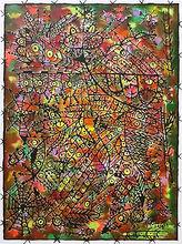 Dario VIEJO - Pintura - El Vuelo del Pájaro II