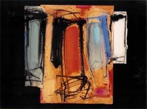 Enzo ESPOSITO - Drawing-Watercolor - Senza titolo 1995