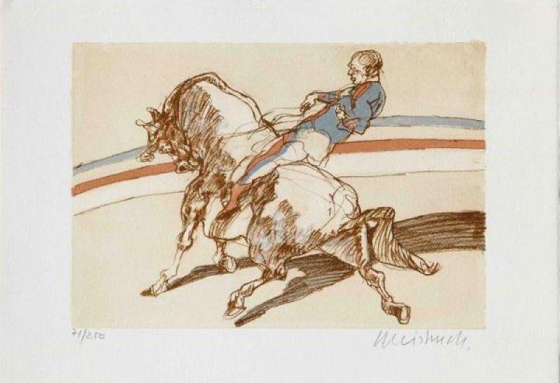 Claude WEISBUCH - Print-Multiple - L'écuyer