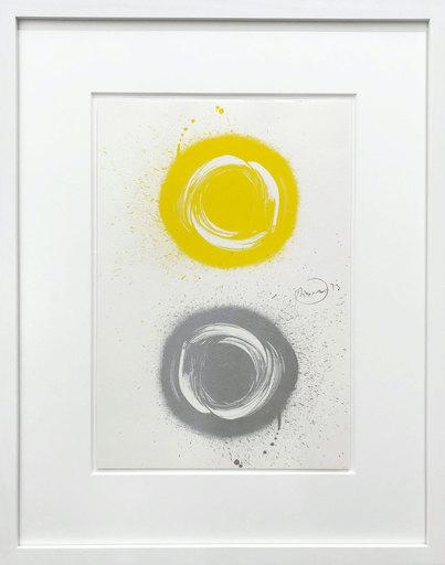Otto PIENE - Estampe-Multiple - Sonne im Spiegel - Sun in a mirror