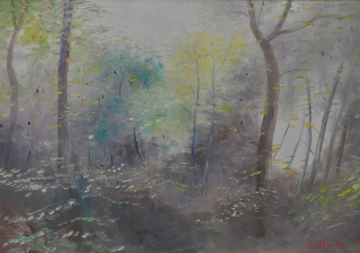 Umberto LILLONI - Pittura - Autunno sul Monte generoso