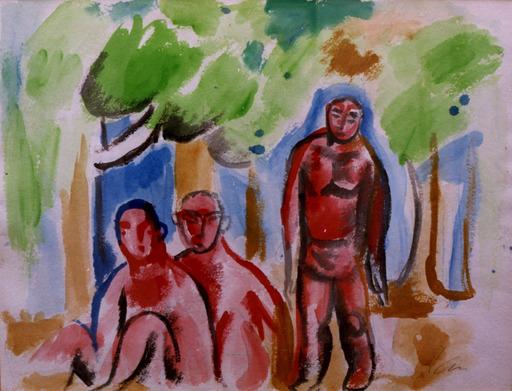 Sandro CHIA - Painting - Figure