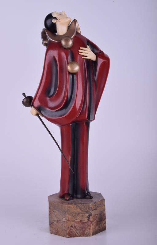 Roland PARIS - Sculpture-Volume - Sculpture of Punchinello