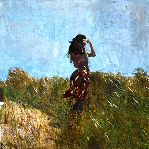 Ayline OLUKMAN - Painting - A contre-jour