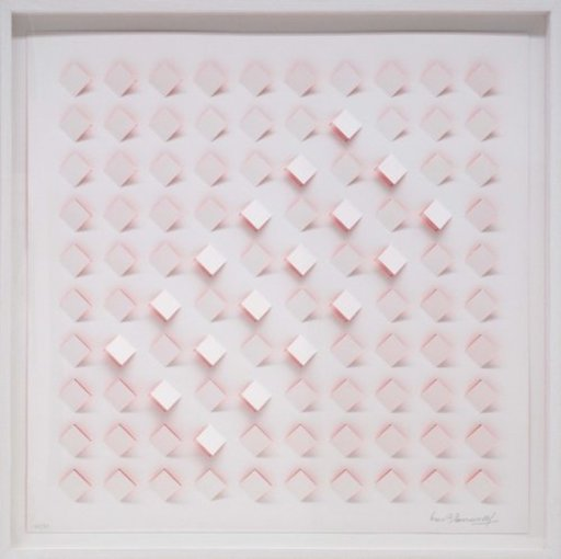Luis TOMASELLO - Print-Multiple - S/T 4 - Rosa