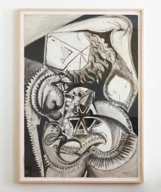 Jean-Jacques LEBEL - Zeichnung Aquarell - Untitled