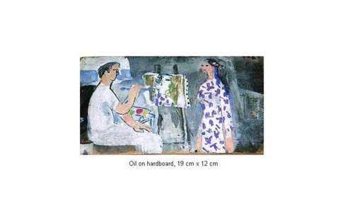 Xuan Phai BUI - Painting - Master at Work 27_24a