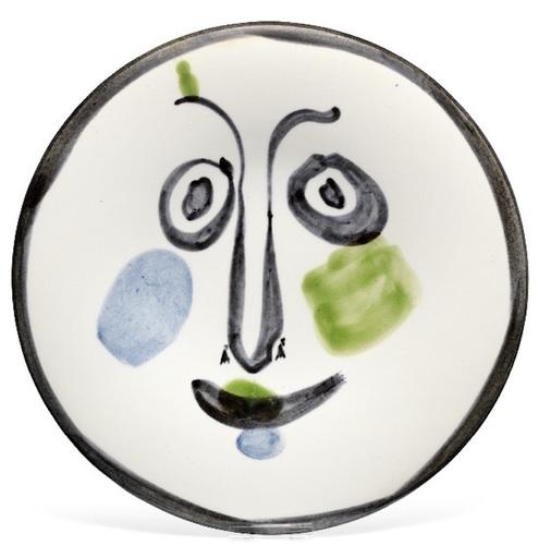 Pablo PICASSO - Ceramiche - Visage n°197