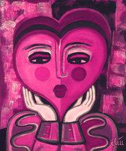 Jacqueline DITT - Peinture - Waiting for Love