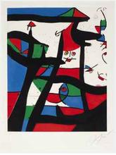 Joan MIRO (1893-1983) - Dans le Grenier à Sel