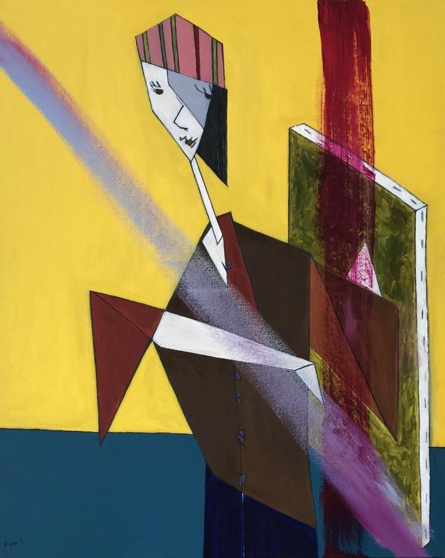 Abraham DAYAN - Peinture - Recherche de création