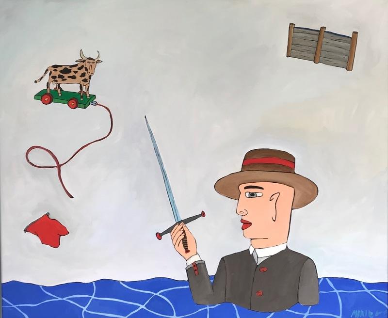 Moritz GÖTZE - Pintura - In letzter Not