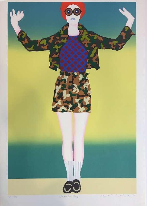 Kiki KOGELNIK - Grabado - Portfolio of Five Prints