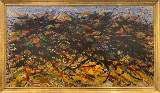 Max UHLIG - Painting - Mecklenburgische Landschaft